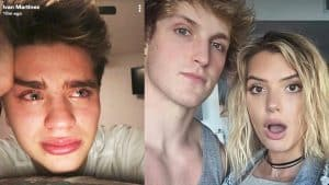Alissa Violet CHEATED on Jake with Logan Paul? ex Team 10 Member CRIES!