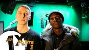 Berna freestyles for Toddla T on BBC Radio 1Xtra