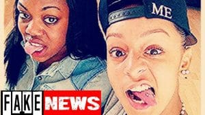 Did Lady Leshurr eat out Paigey Cakey? #FakeNews