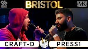 Rap Battle: Craft-D vs Press 1 – The Plug Tour Bristol