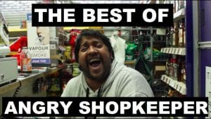 The Best Of Angry ShopKeeper (Part 1) @AngryShopkeeper | Grime Report Tv