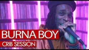 Burna Boy freestyle – Westwood Crib Session (4K)