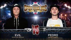 Evil vs Pedro Full Battle   Spin The Mic 2017