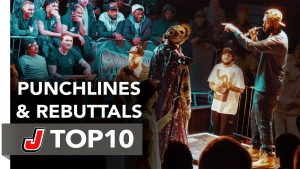 Top 10 Punchlines & Rebuttals – Spin The Mic 2017