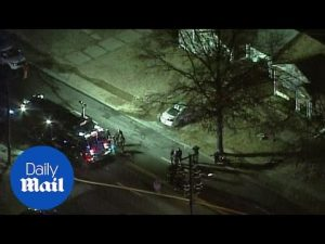 Aerial footage of house where two FBI agents were shot – Daily Mail