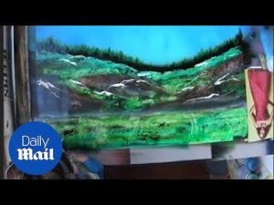 Amazing 3D Spray Paint Art – Daily Mail
