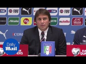 Antonio Conte: We want to make Italy proud (Archive) – Daily Mail