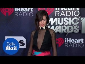 Camila Cabello looks cute on the iHeart Radio Awards red carpet – Daily Mail