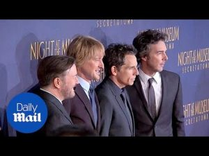 Cast of Night At The Museum remember Robin Williams – Daily Mail