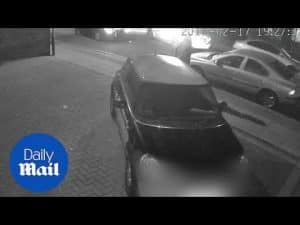 CCTV shows man collapsing after he is stabbed in Brent Cross – Daily Mail