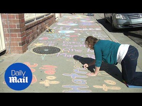 Daughter of San Bernardino victim spreads message of peace – Daily Mail