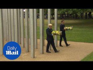 David Cameron and Boris Johnson lay wreaths for 7/7 victims – Daily Mail
