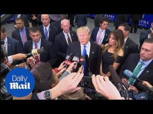 Donald Trump on first presidential debate: My mic was defective – Daily Mail