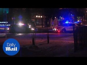 Fargo police officer shot during eleven-hour standoff – Daily Mail