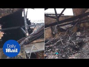 First look inside burnt out Camden market after huge blaze – Daily Mail