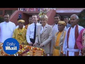 French President Macron and wife Brigitte visit the Taj Mahal – Daily Mail