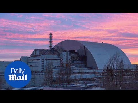Giant arch-shaped shelter installed at Chernobyl nuclear plant – Daily Mail