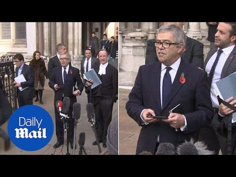 High Court rules UK can't trigger Brexit without MP's backing – Daily Mail