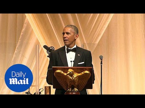 'It ain't over till it's over': Obama at his final state dinner – Daily Mail