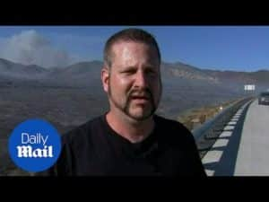 'It was just a nightmare': Man speaks on California wildfire – Daily Mail