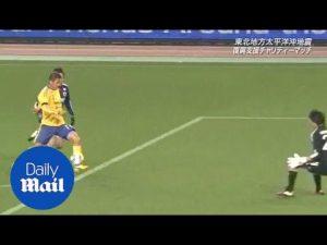 Japan's oldest footballer Kazuyoshi Miura scores screamer for Yokohama – Daily Mail