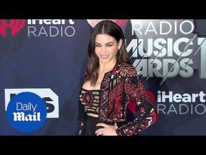 Jenna Dewan puts on an ornate display at iHeart Radio Awards – Daily Mail