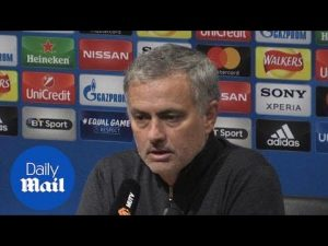 Jose Mourinho on 2-1 loss: 'I don't think the performance was bad' – Daily Mail