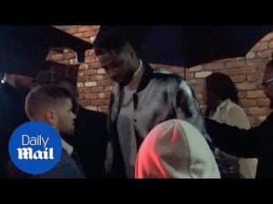 Khloe K, Tristan Thompson, and guests leave Tristan's party – Daily Mail