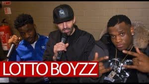Lotto Boyzz backstage on Afrobbean wave, Birmingham, new mixtape, tour