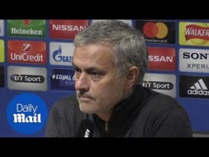 Mourinho compares Sevilla loss to beating United as Porto manager – Daily Mail
