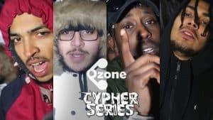 Ozone Media: Eyez x Dubzy x KayGee x ManLikeH [CYPHER SERIES]