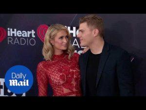 Paris Hilton & Chris Zylka at the 2018 iHeart Radio Awards – Daily Mail