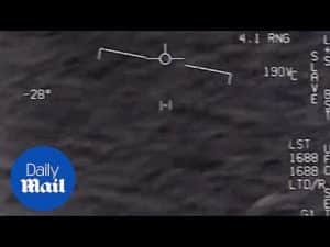 Pilots excitedly track bizarre unidentified aerial phenomenon – Daily Mail