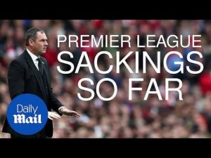 Premier League sackings: Who's gone so far this season? – Daily Mail