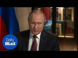 Putin brusquely comments on alleged U.S. election meddling – Daily Mail