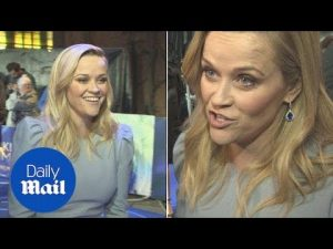 Reese talks positively about a female leading Disney fantasy movie – Daily Mail
