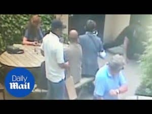 Shameless robber: CCTV captures man stealing gems worth £35k – Daily Mail