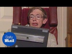 Stephen Hawking talks about A Brief History of Time in 1992 – Daily Mail