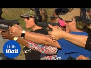 Texas teachers prepare themselves with weapons training classes – Daily Mail