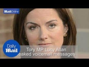 Tory MP Lucy Allan accused of verbal abuse to staff members – Daily Mail