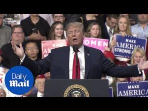 Trump talks 2020 run, Mexico, and drugs during Pennsylvania rally – Daily Mail