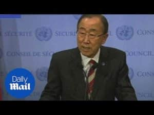 UN chief says he's very concerned about recent cyber attacks – Daily Mail