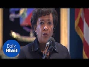 US Attorney General Lynch on Trump's rigged poll claims – Daily Mail