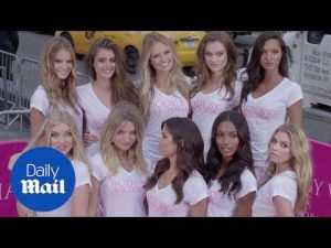Victoria's Secret newest angels take over New York – Daily Mail
