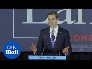 'We did it!' Democrat Conor Lamb declares victory in Pennsylvania – Daily Mail