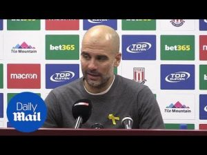 'We want to be champions': Guardiola optimistic after Stoke match – Daily Mail