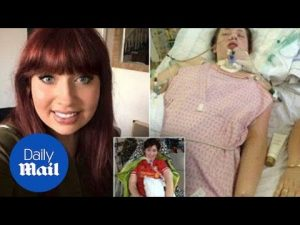 Woman left PARALYSED after contracting meningitis – Daily Mail