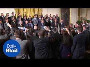 World Series champion Houston Astros visit the White House – Daily Mail