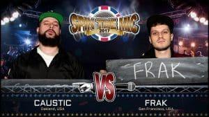 Caustic vs Frak Full Battle | Spin The Mic 2017