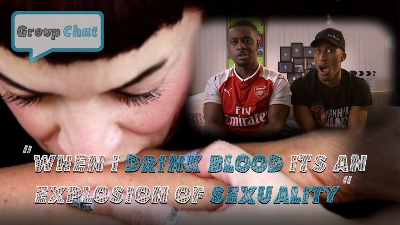 """""""When I Drink Blood Its An Explosion Of Sexuality"""" GROUP CHAT S:1 EPISODE 6"""